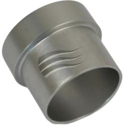 Proflow 818-06S Tube Nut For 3//8/' Tube Silver